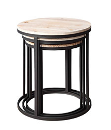 Layton Set of 3 Nesting Round Tables