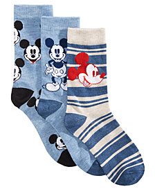 Planet Sox 3-Pk. Mickey Mouse Socks Gift Box