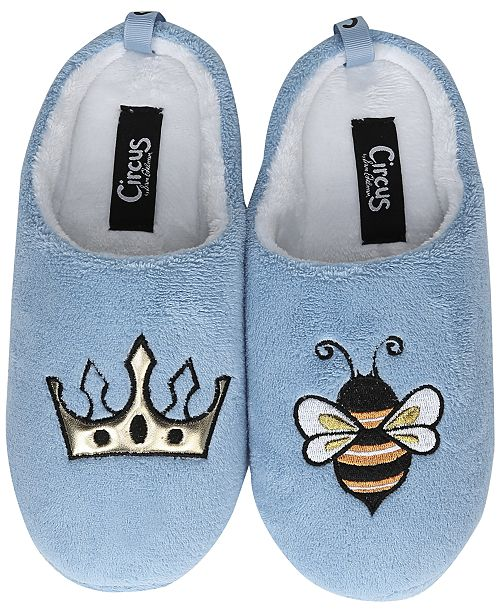 7268c8bba80 Circus by Sam Edelman Jilly Embroidered Plush Slippers & Reviews ...