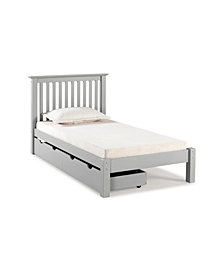 Barcelona Twin Bed with Storage Drawers