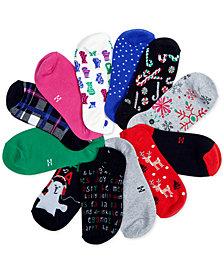 HUE® 12 Days Liner Socks Gift Set