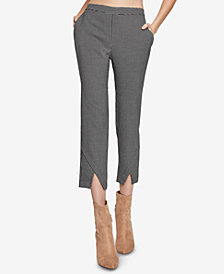 BCBGeneration Cropped Jacquard Pants