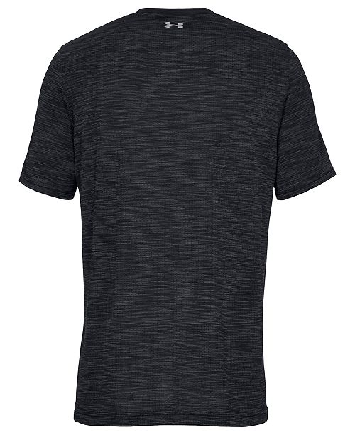 928070ea Under Armour Men's Threadborne Seamless T-Shirt - Casual Button-Down ...