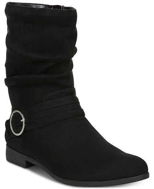 140957511fe3 Dr. Scholl s Ripple Boots   Reviews - Boots - Shoes - Macy s