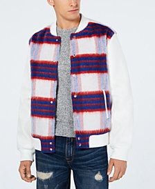 GUESS Men's Marmont Check Jacket