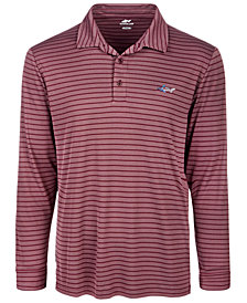 Greg Norman for Tasso Elba Men's Stripe Performance Polo, Created for Macy's