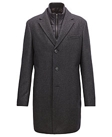 BOSS Men's Slim-Fit Coat