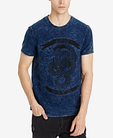 Buffalo David Bitton Men's KIBLAST Logo Graphic T-Shirt