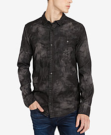 Buffalo David Bitton Men's SACAMER-X Printed Pocket Shirt