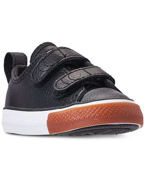 8158b8001328 ... Converse Toddler Boys  Chuck Taylor Ox 2V Casual Sneakers from Finish  Line ...