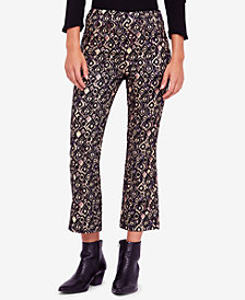 Free People Mod Cropped Kick-Flare Pants