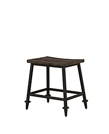 Trevino Backless Non-Swivel Counter Height Stool