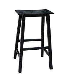 "Slat Seat Stool - 29"" Seat Height"