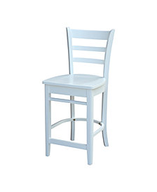 "Emily Counterheight Stool - 24"" Seat Height"