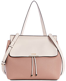 GUESS Varsity Pop Top-Handle Satchel