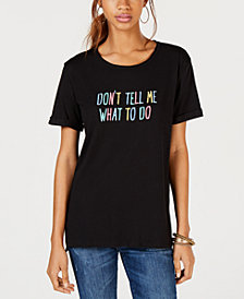 Carbon Copy Don't Tell Me What To Do Graphic T-Shirt