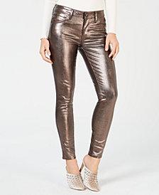 GUESS Metallic Skinny Jeans