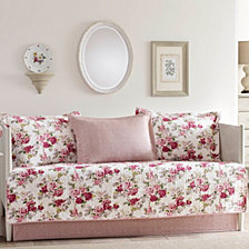 Laura Ashley Lidia Pink Daybed Set