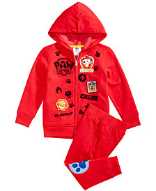 Nickelodeon Little Boys 2-Pc. Paw Patrol Sweatsuit