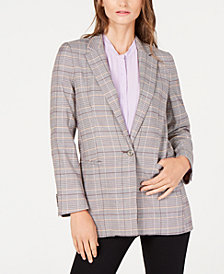 Marella Fidato Plaid Jacket, Created for Macy's