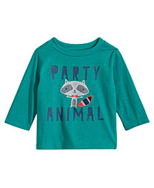 First Impressions Toddler Boys Party Animal Graphic T-Shirt, Created for Macy's