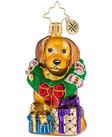 Christopher Radko The Retriever Gets It Little Gem Ornament