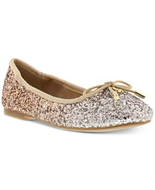 Little & Big Girls Felicia Gradient Sequin Flats