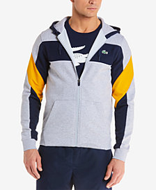 Lacoste Men's Mixed Media Colorblock Sweatshirt