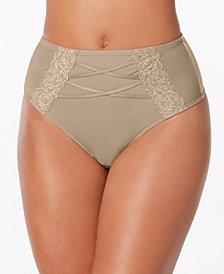 I.N.C. High-Waist Lace Corset Thong, Created for Macy's