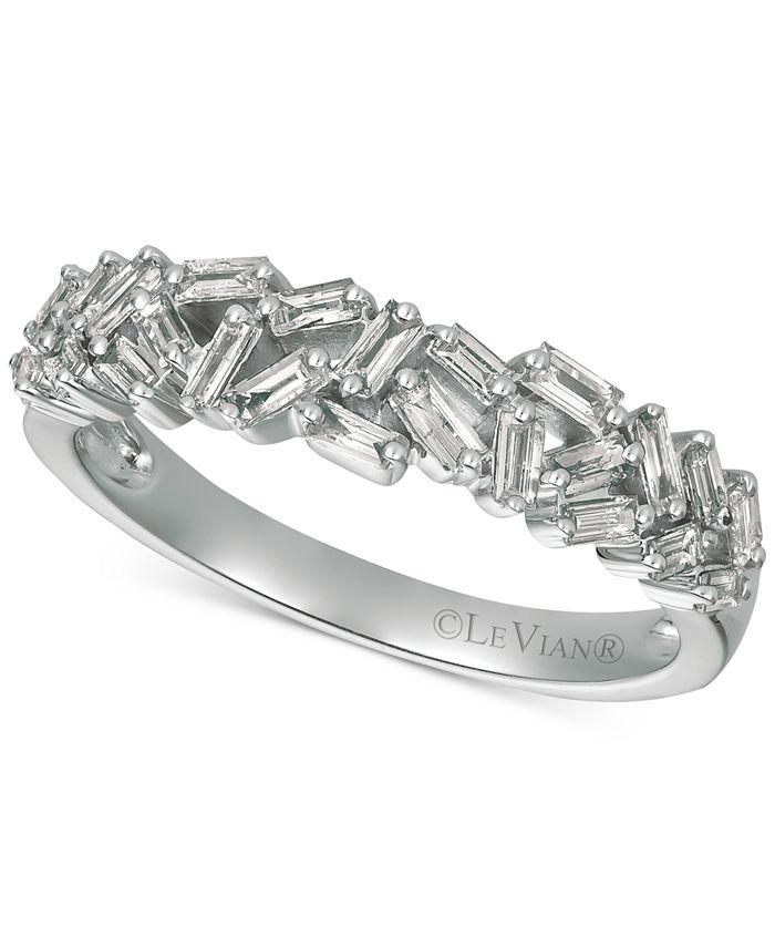Le Vian - Diamond Baguette Statement Ring (1/2 ct. t.w.) in 14k Rose Gold
