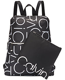 Calvin Klein Logo Tatiana Backpack