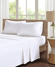 Peached Percale 4-PC Full Cotton Sheet Set