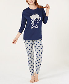 Jenni Tunic & Leggings Pajama Set, Created for Macy's