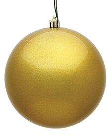 "4"" Gold Candy Ball Christmas Ornament, 6 per Bag"