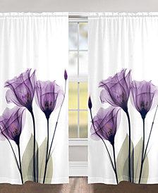 """Gentian Hope 95"""" Sheer Window Panel"""