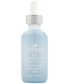 boscia Sake Hydrating & Brightening Serum, 1.7 oz.