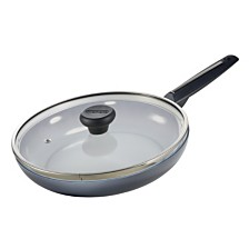 "Moneta Azul Gres Non-Stick Fry Pan 11.5"" with Lid"