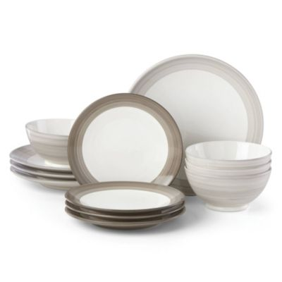 Charles Lane 12-Piece Dinnerware Set, Created for Macy's