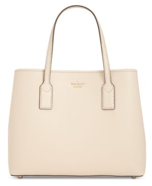 Hadley Road Small Dina Leather Shoulder/Crossbody Bag - Beige, Tusk/Gold