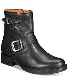 Women's Vicky Leather Booties