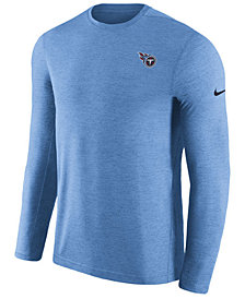 Nike Men's Tennessee Titans Coaches Long Sleeve Top