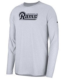 Nike Men's Los Angeles Rams Player Long Sleeve Top