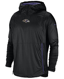 Nike Men's Baltimore Ravens Lightweight Alpha Fly Rush Jacket