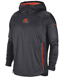 Nike Men's Cleveland Browns Lightweight Alpha Fly Rush Jacket