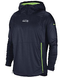 Nike Men's Seattle Seahawks Lightweight Alpha Fly Rush Jacket