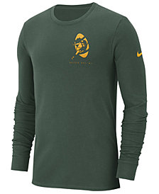 Nike Men's Green Bay Packers Heavyweight Seal Long Sleeve T-Shirt