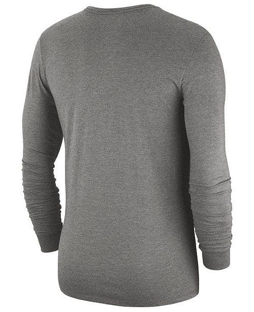 online store e721b 0bec7 Nike Men's Washington Redskins Historic Crackle Long Sleeve ...