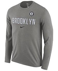 Nike Men's Brooklyn Nets Essential Facility Long Sleeve T-Shirt