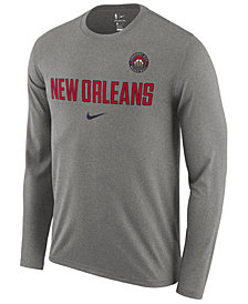 Nike Men's New Orleans Pelicans Essential Facility Long Sleeve T-Shirt