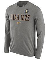 Nike Men s Utah Jazz Essential Facility Long Sleeve T-Shirt 89d1cdda10